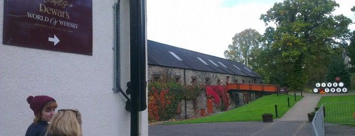 Aberfeldy Distillery is one of Outdoors.