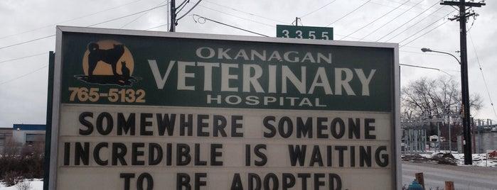 Okanagan Veterinary Hospital is one of Veterinary Clinics Across Western Canada.