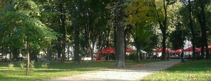 Shevchenko Park is one of TOP-20: Київ.