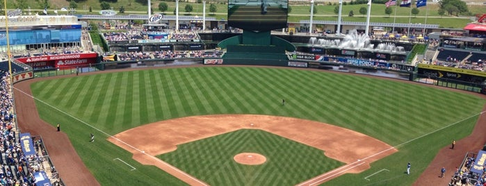 Kauffman Stadium is one of Missouri.