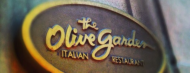 Olive Garden is one of Visited Here.