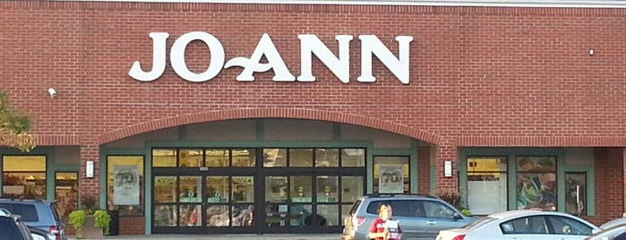 JOANN Fabrics and Crafts is one of Crafty Girl.