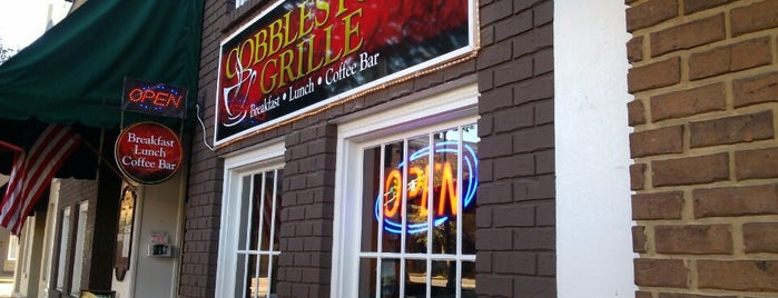 Cobblestone Grille is one of Caffeinated in Cleveland.