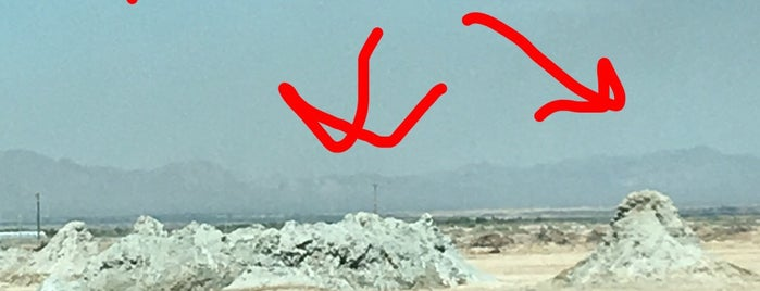 Salton Sea Geothermal Mud Volcanos is one of Salton Sea!.