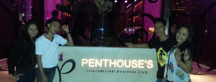 Penthouse's International Business Club is one of Party's places.