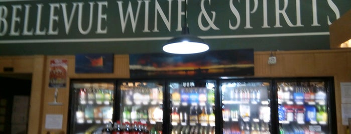 Bellevue Wine & Spirits is one of Newport: Favorite Places.
