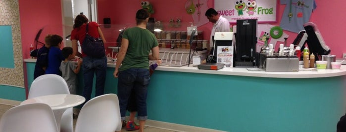 Sweet Frog is one of Baltimore Area Froyo Compendium.