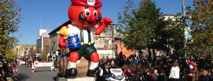 Thanksgiving Day Parade (Kitchener-Waterloo Oktoberfest) is one of Waterloo.
