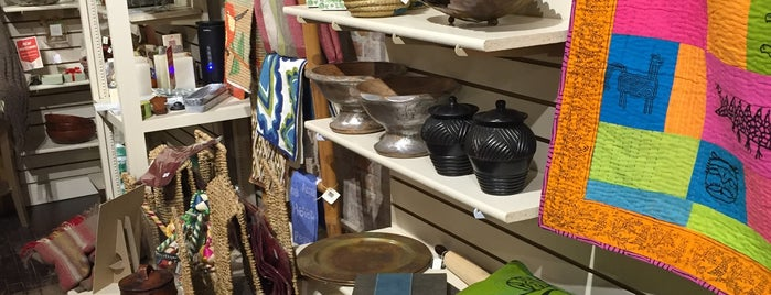 Ten Thousand Villages is one of Shop #BTV.