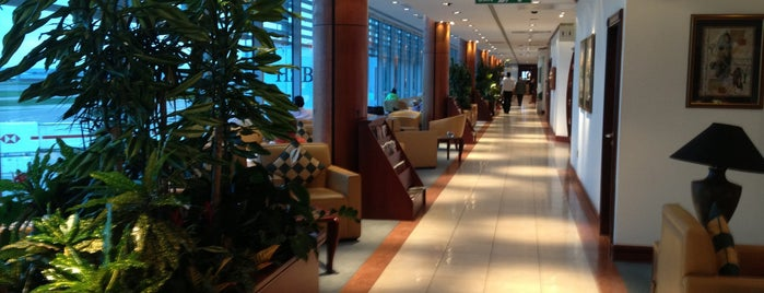 The Emirates Lounge is one of Exploring London.