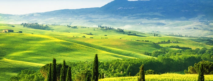 Val d'Orcia is one of Best of Tuscany, Italy.