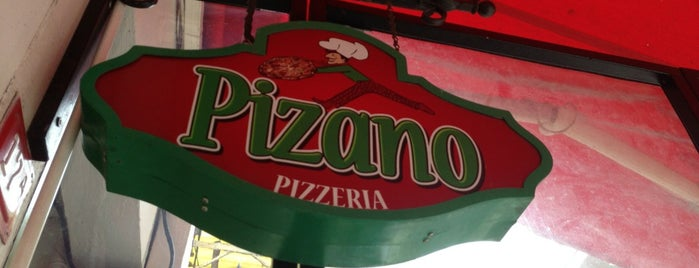 Pizano Pizzeria is one of TG.