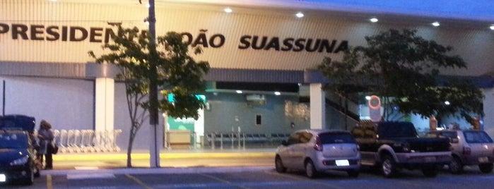 Aeroporto de Campina Grande / Presidente João Suassuna (CPV) is one of Aeroportos do Brasil.