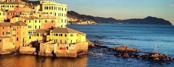 Boccadasse is one of Genova.