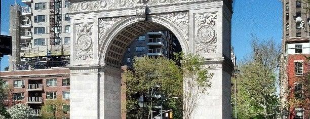 Washington Square Park is one of NYU Graduate Bucket List.