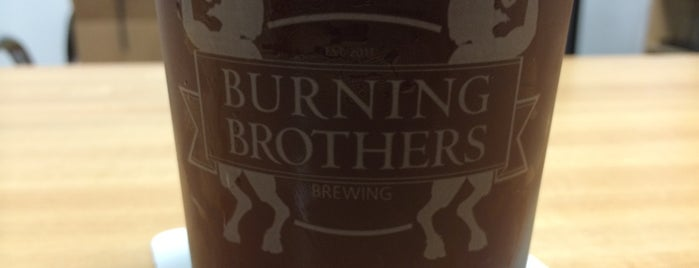 Burning Brothers Brewing is one of Minneapolis-St. Paul Tap Room Directory.