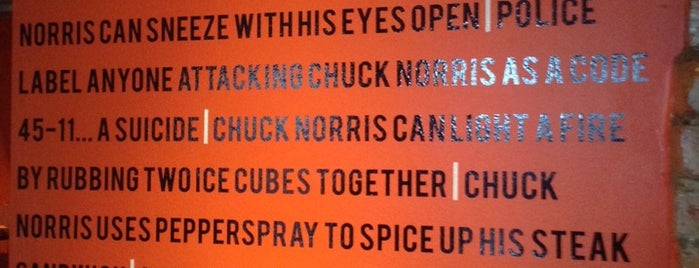 Chuck Norris Grill is one of Reykjavik.