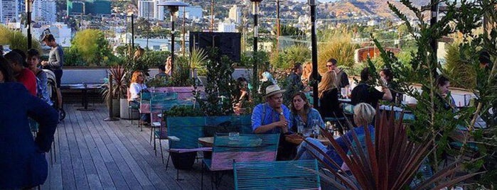 E.P & L.P. is one of America's Ultimate Rooftop Bars.
