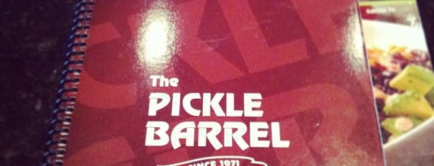 The Pickle Barrel is one of Restaurants.