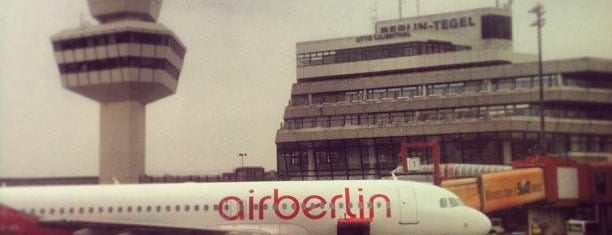 Berlin Tegel Otto Lilienthal Airport (TXL) is one of AIRPORTS world.