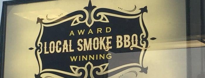 Local Smoke BBQ is one of Nj Restaurants.
