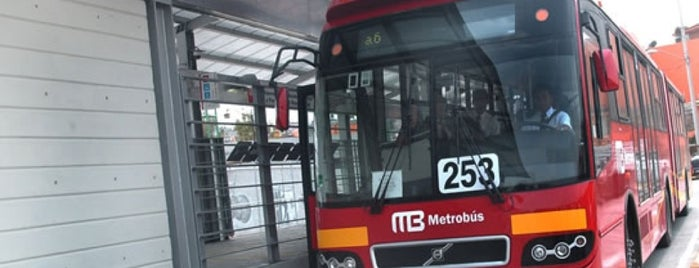 Metrobús Xola is one of ILVEM.