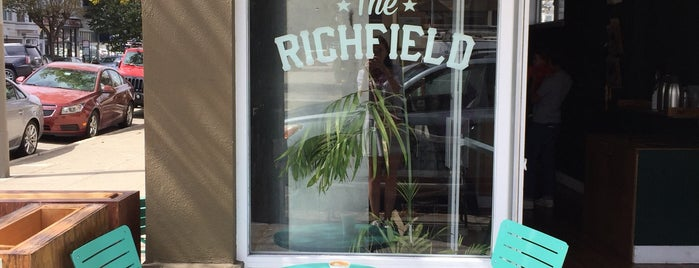 The Richfield is one of Coffee shops in SF.