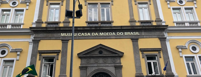 Museu e Centro Cultural da Casa da Moeda do Brasil is one of Centro / Lapa.