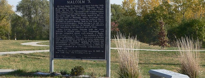 Malcolm X  Birthsite is one of Must-See African American Historical Places In US.