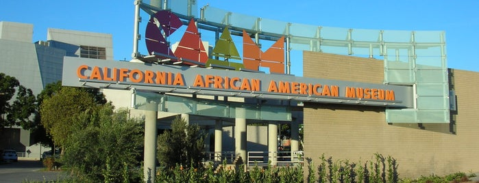 California African American Museum is one of Must-See African American Historical Places In US.