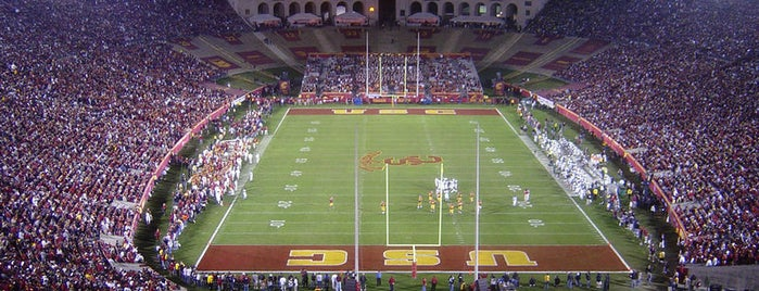 Los Angeles Memorial Coliseum is one of Must-See African American Historical Places In US.
