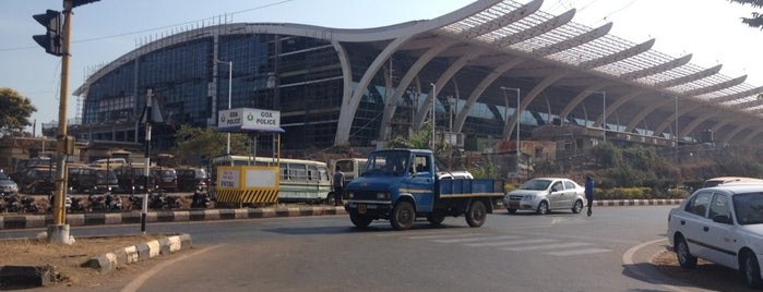 Goa International Airport / Dabolim Airport (GOI) is one of India places to visit.
