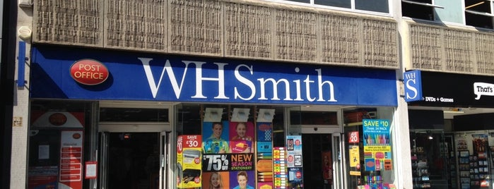 WHSmith is one of places.