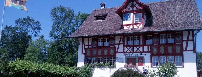 Wirtschaft zur Burg is one of Approved Places in and around Zurich.