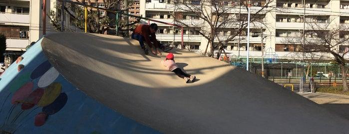 中津東公園(プリン公園) is one of 気になるべニューちゃん 関西版.