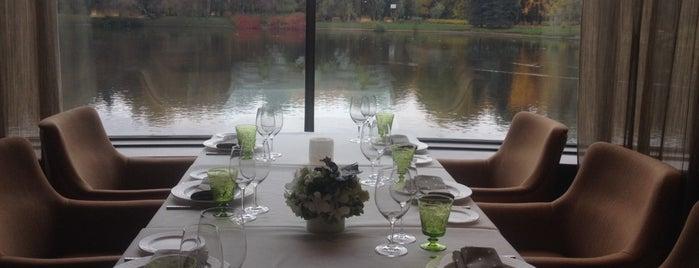 II Lago is one of Рестораны с нереальным видом.