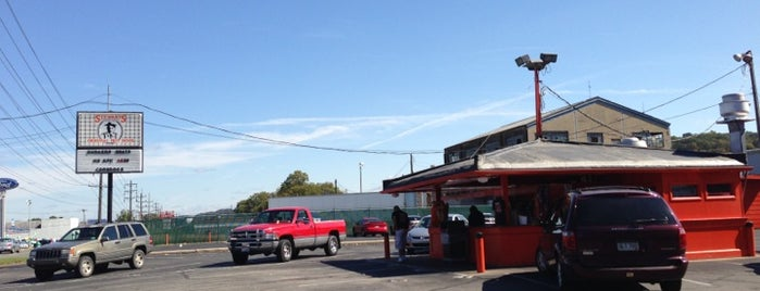 Stewart's Hotdogs is one of 500 Things to Eat & Where - South.