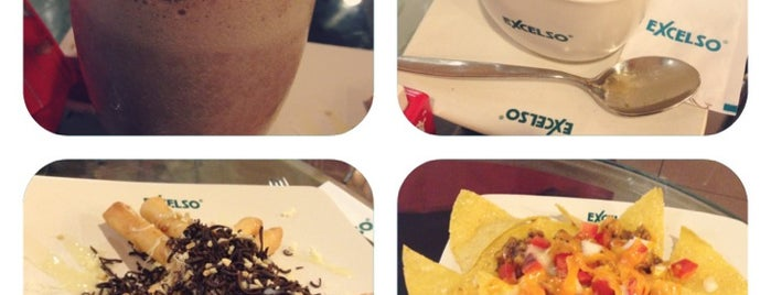 EXCELSO is one of Cafe or Coffee Shop.