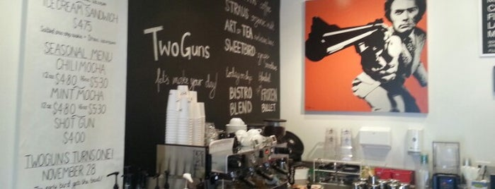 Two Guns Espresso is one of Coffee Snob Approved.