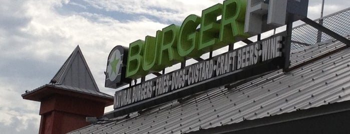 BURGERFI is one of Vegetarian and Veggie Friendly.