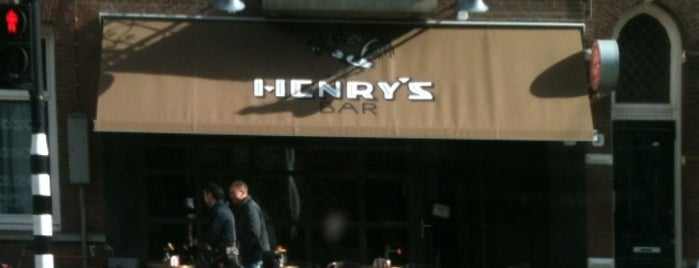 Henry's Bar is one of The 15 Best Places for a Gin in Amsterdam.