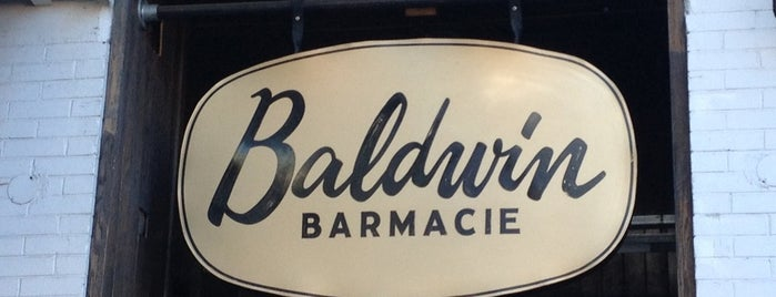 Baldwin Barmacie is one of Best Terrasses in Montreal.