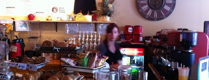 Dark Horse Coffee is one of i want 2 eat 2.