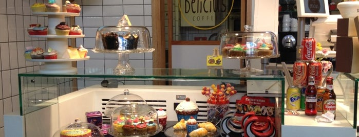 Delicius Coffee is one of Desayunos y meriendas en Madrid.