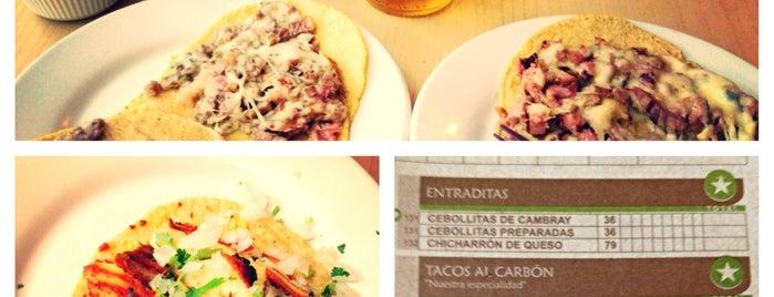 El Farolito is one of Donde comer sin carne..