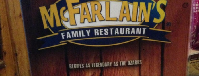 McFarlain's Family Restaurant is one of Places I End Up Frequently.