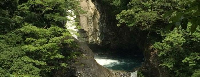 轟の滝 is one of 日本の滝百選.