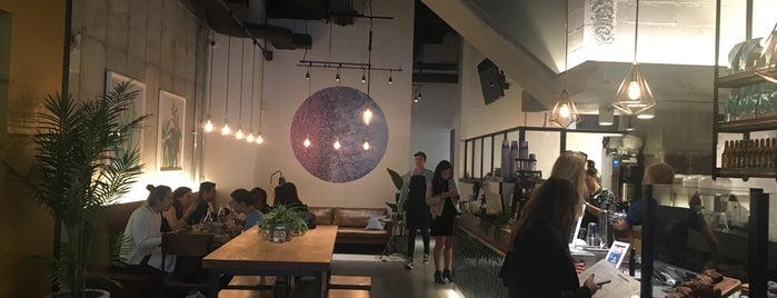 Bluestone Lane is one of The 15 Best Coffee Shops in New York City.