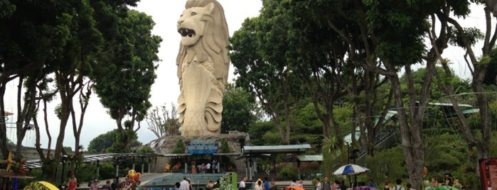 Sentosa Merlion is one of To-Do in Singapore.
