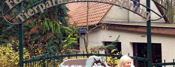 Tierpark Kunsterspring is one of Brandenburg Blog.